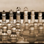 Chess Pieces / Set -  business concept series: strategy, CEO, ma